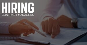 Contract Manager Jobs