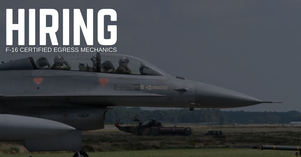 F-16 Certified Egress Mechanic Jobs