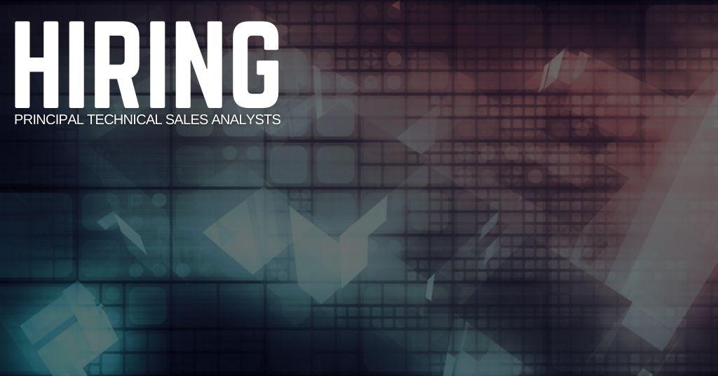 Principal Technical Sales Analyst Jobs