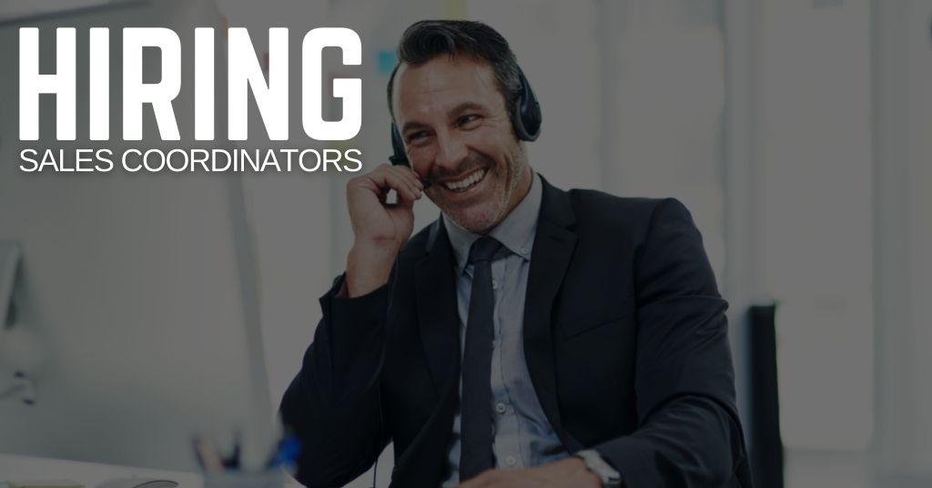 Sales Coordinator Jobs