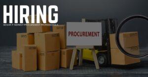 Senior IT Indirect Procurement Professional Jobs
