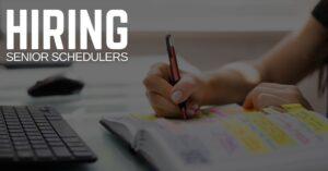 Senior Scheduler Jobs