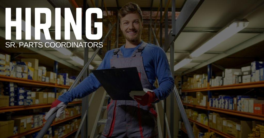 Sr. Parts Coordinator Jobs (1)
