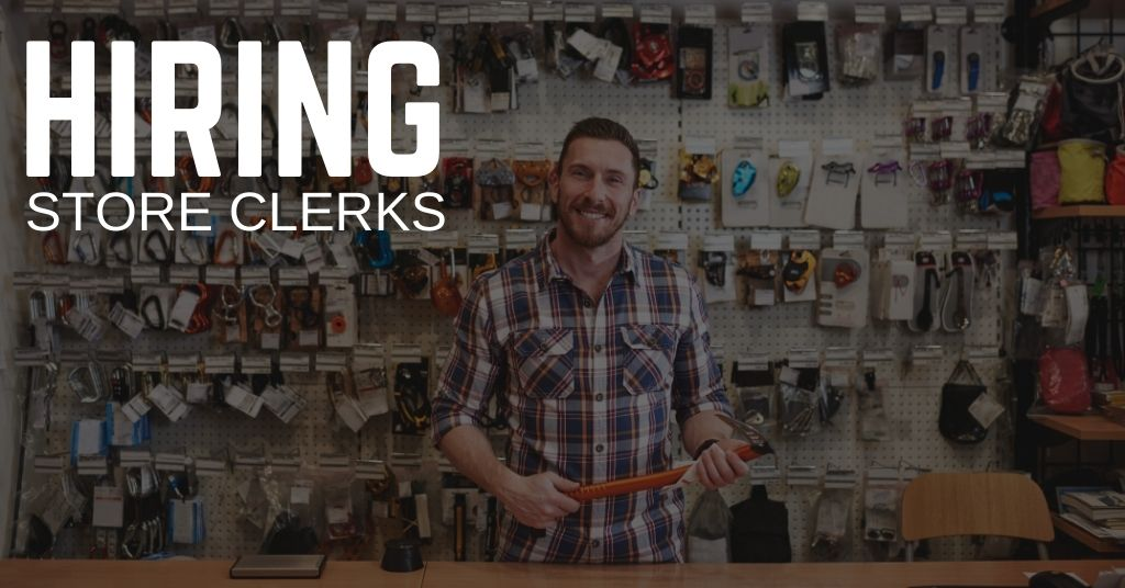 Store Clerk Jobs