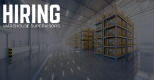 Warehouse Supervisor Jobs