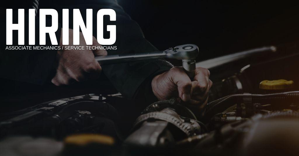 Associate Mechanic Service Technician Jobs
