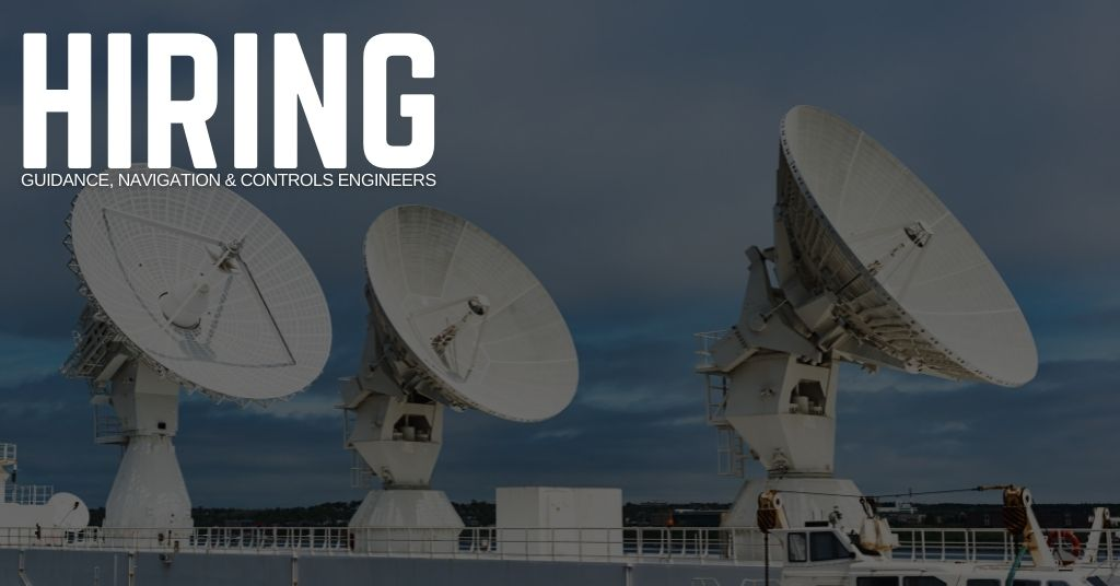 Guidance, Navigation & Controls Engineer Jobs