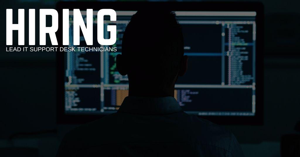 Lead IT Support Desk Technician Jobs