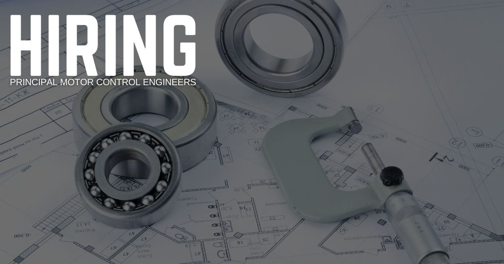 Principal Motor Control Engineer Jobs