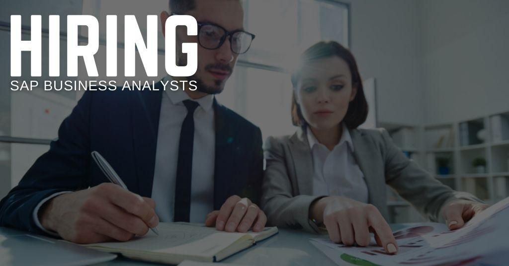 SAP Business Analyst Jobs