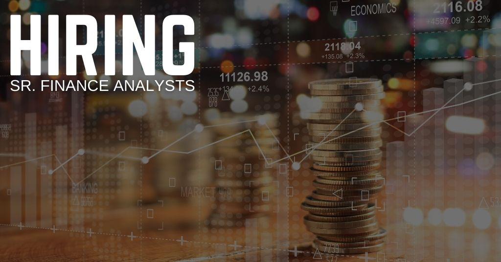 Sr. Finance Analyst Jobs