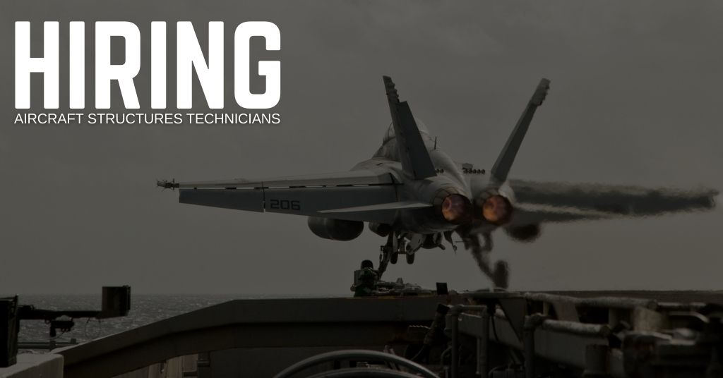 hiring Aircraft Structures Techniciansin Virginia Beach, Virginia