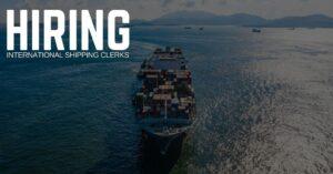 International Shipping Clerk Jobs