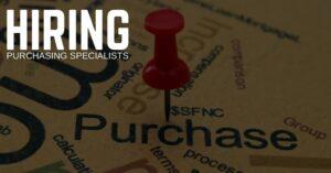 Purchasing Specialist Jobs