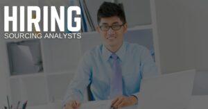 Sourcing Analyst Jobs