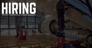 Aircraft Maintenance Crew Scheduler Jobs
