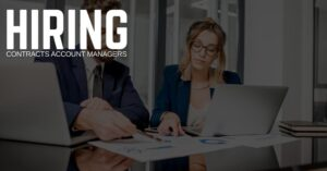 Contracts Account Manager Jobs