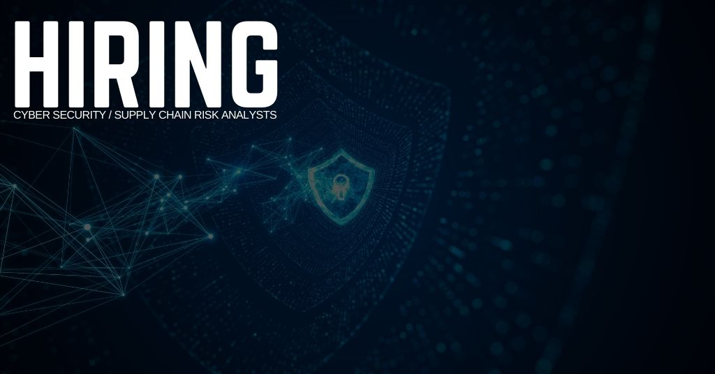 Cyber Security Supply Chain Risk Analyst Jobs