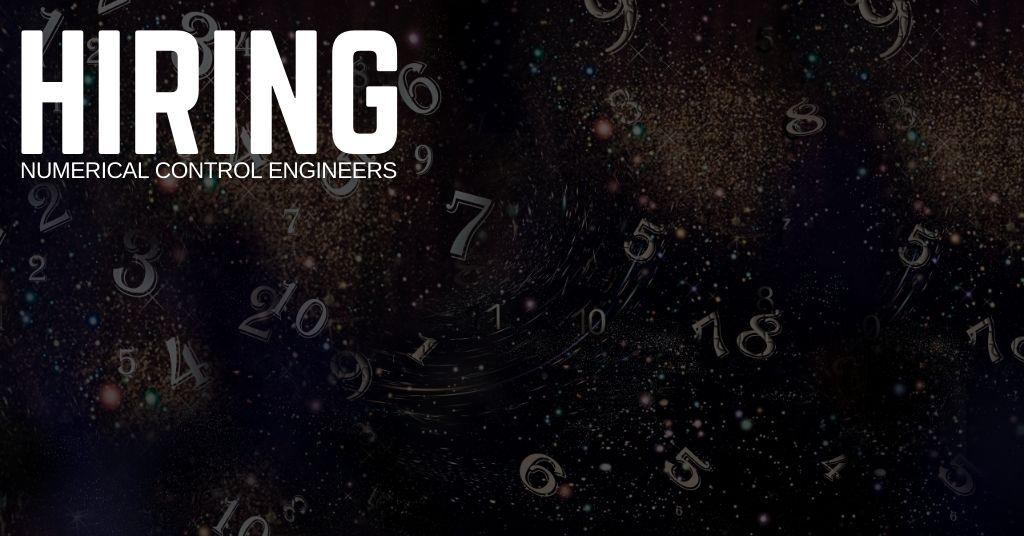 Numerical Control Engineer Jobs