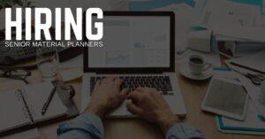 Senior Material Planner Jobs