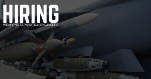 Weapons Separation Engineer Jobs