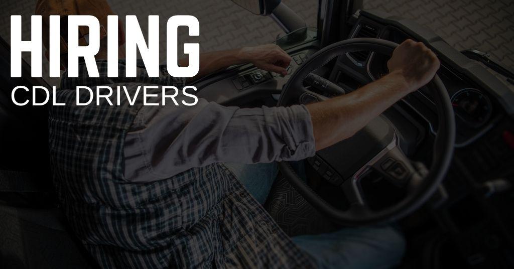 CDL Driver Jobs