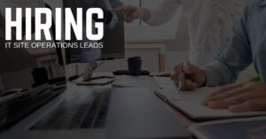 IT Site Operations Lead Jobs