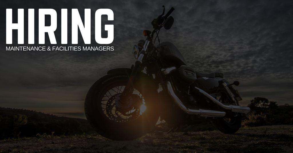Maintenance & Facilities Manager Jobs