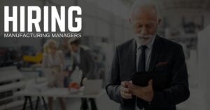 Manufacturing Manager Jobs