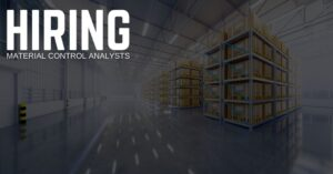 Material Control Analyst Jobs