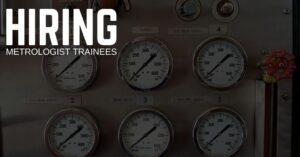 Metrologist Trainee Jobs