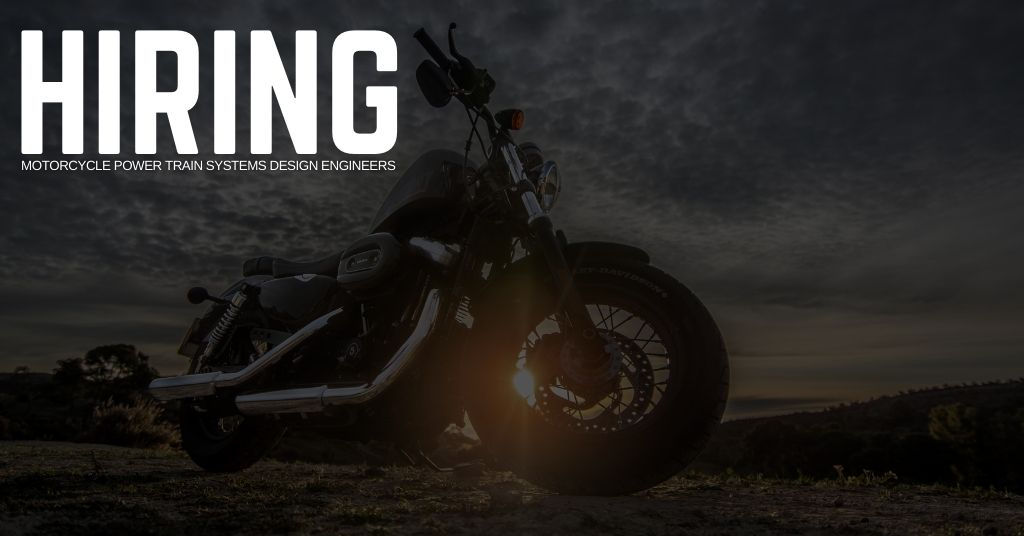 Motorcycle Power Train Systems Design Engineer Jobs
