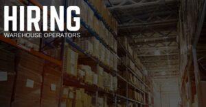 Warehouse Operator Jobs
