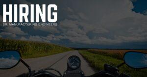 Sr. Manufacturing Engineer
