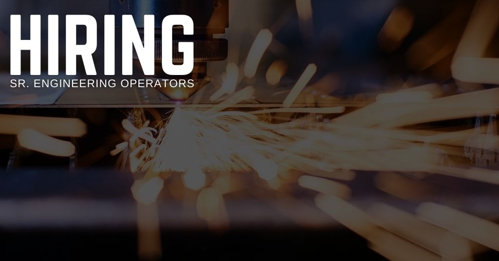 Sr. Engineering Operator Jobs